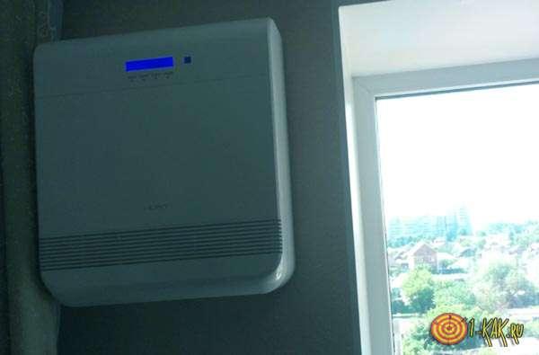 Аппарат для фильтрации воздуха