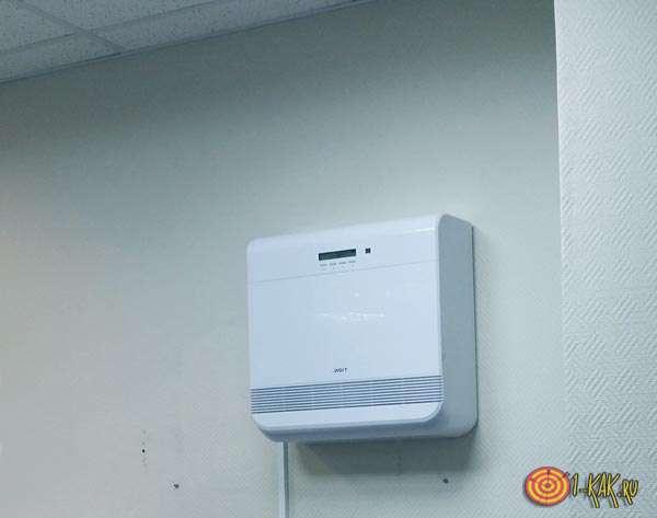 Установка для очистки и подачи воздуха