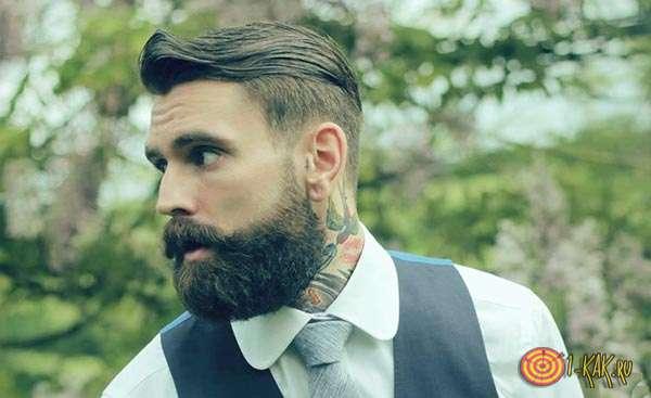 Ухоженный бородач
