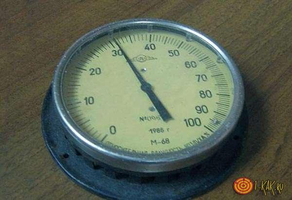 Первый волосяной гигрометр