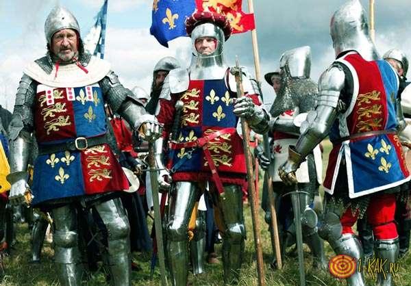 Боевые действия между Англией и Францией