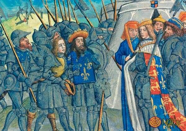 Противостояние Французов и Англичан