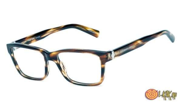 Очки в роговой оправе - классика