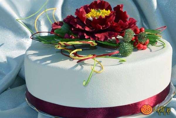 Выбрали свадебный торт