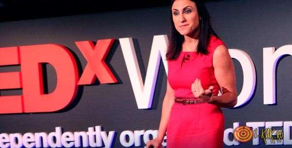 TEDxWomen - выступление
