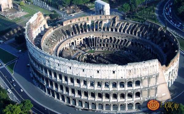 Римский колизей в наши дни