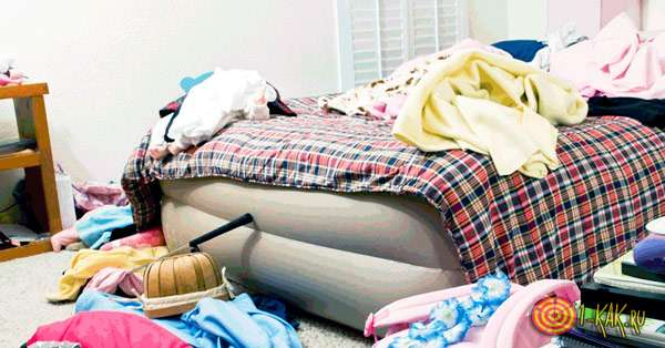 бардак и мусор в квартире