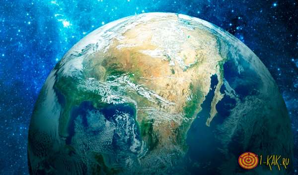 Планета в форме шара