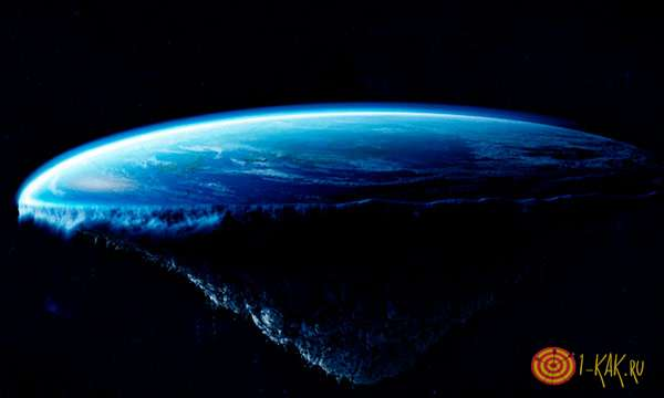 Возможная форма планеты