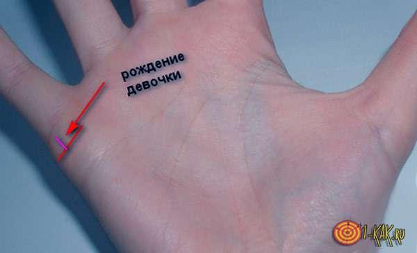 Две линии на руке