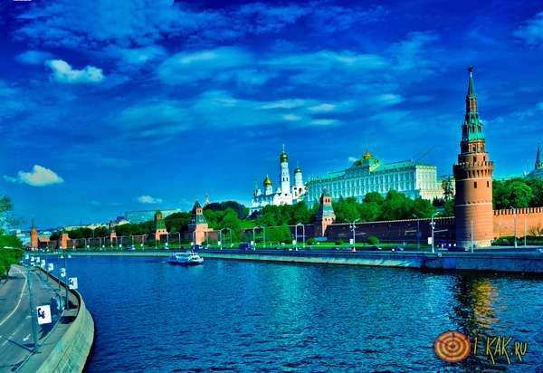 Москва-река в столице
