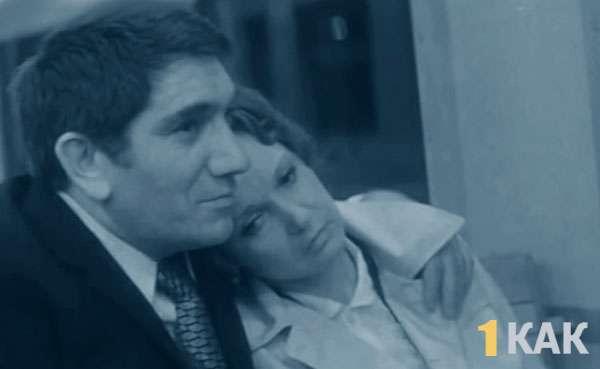 Актер с первой женой