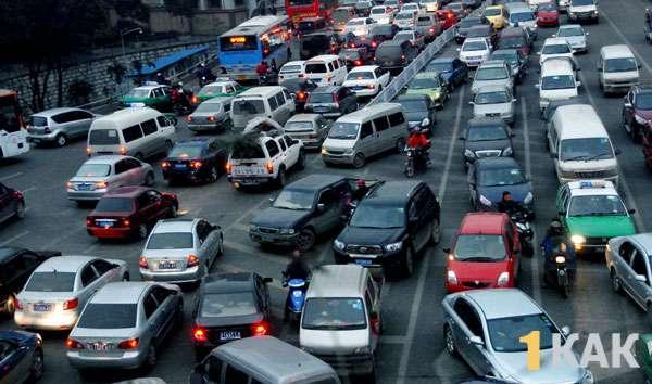 Трафик авто в Тайланде